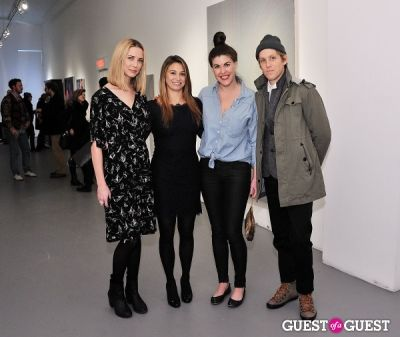 gordon holden in Retrospect exhibition opening at Charles Bank Gallery
