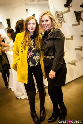 elizabeth olsen in Cher Coulter AG Jeans Collection Launch at Scoop NYC