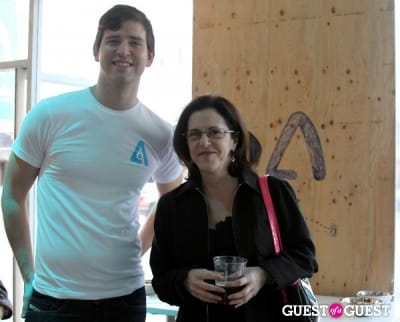 chris barley in Architizer LA Launch Party