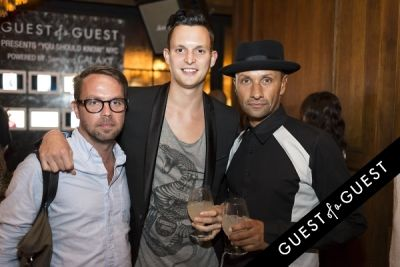 parker boase in You Should Know Launch Party Powered by Samsung Galaxy 1