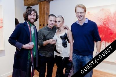 tina kerekes in ART Now: PeterGronquis The Great Escape opening