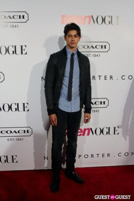 chris galya in 9th Annual Teen Vogue 'Young Hollywood' Party Sponsored by Coach (At Paramount Studios New York City Street Back Lot)