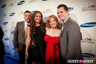 chris manzo in Samsung Hope For Children Gala 2013