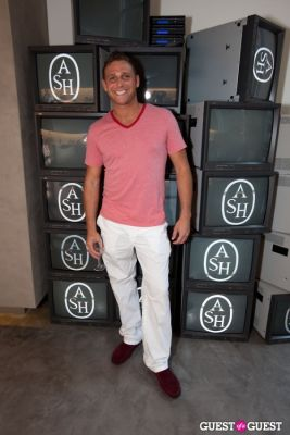 chris nirschel in The Ash Flagship NYC Store Event