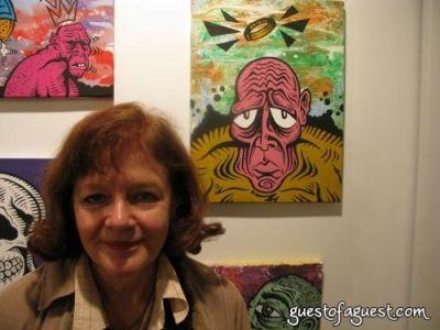 chris norwood in Damon Johnson Gallery Opening