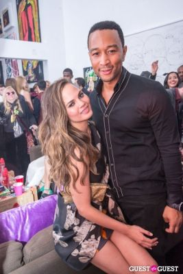 john legend in Galore Magazine Kick-Off Party