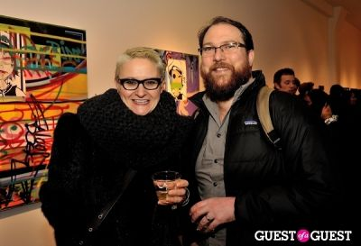 christen clifford in COLOR or COLOUR Exhibition Opening