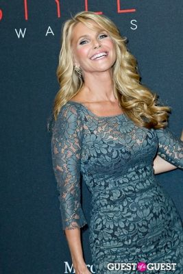 christie brinkley in The 10th Annual Style Awards