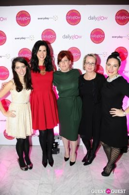 christina heiser in Daily Glow presents Beauty Night Out: Celebrating the Beauty Innovators of 2012