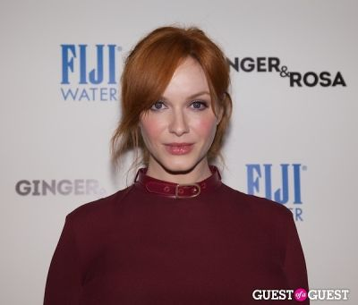 christina hendricks in FIJI and The Peggy Siegal Company Presents Ginger & Rosa Screening