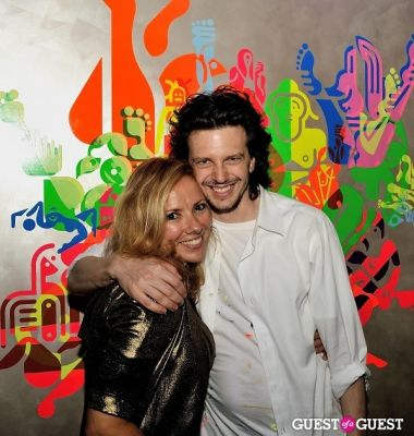 christina lessa in FLATT Magazine Closing Party for Ryan McGinness at Charles Bank Gallery