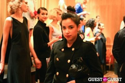 christina perez in NYFW: Imitation Presentation Fall 2012 by Tara Subkoff Album Two