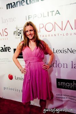christine marchuska in Marie Claire Hosts: RedLight Children at Le Poisson Rouge