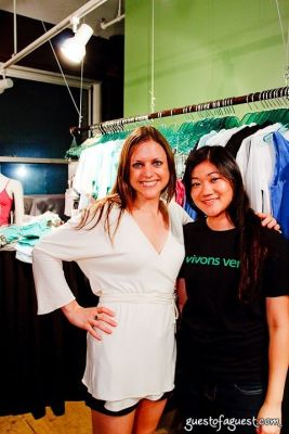 christine marchuska in The Green Room NYC Presents a Trunk Show and Cocktails