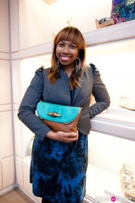christine shepherd in Spring Charity Shopping Event at Nival Salon and Jimmy Choo