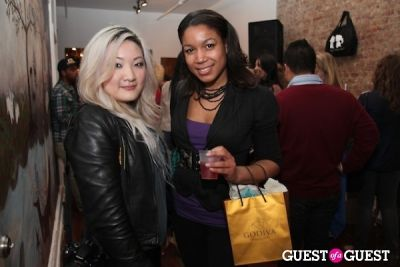 christine tsang in Behind the Seams with Stacy Igel on Lockerz.com Wrap Party