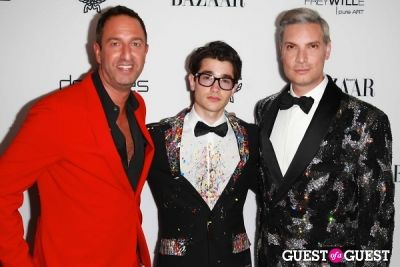 "christos garkinos in Harper's Bazaar to Celebrate Cameron Silver & Christos Garkinos of Decades and Bravo's ""Dukes of Melrose"""