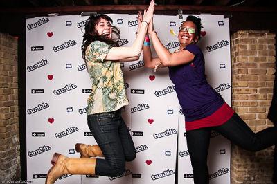 chrysanthe tenentes in Tumblr's SXSW Party