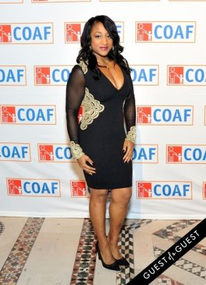 chrystal ston in COAF 12th Annual Holiday Gala