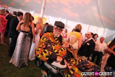 chuck close in Parrish Art Museum Midsummer Benefit