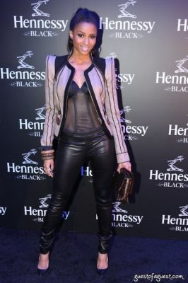 ciara in Hennessy Black Launch Party