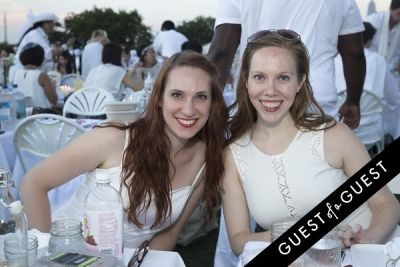 claire litherland in Diner En Blanc NYC 2014