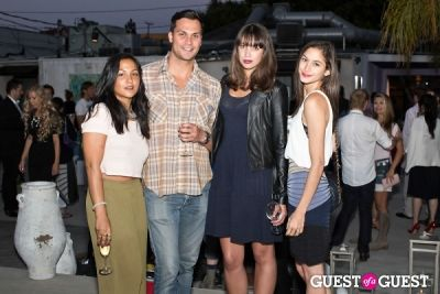 carl larsen in Preview Party for Billy Zane's Solo Art Exhibition: