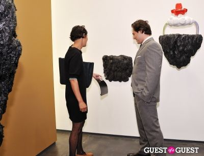claudia dias in Ronald Ventura: A Thousand Islands opening at Tyler Rollins Gallery