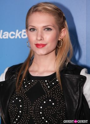 claudia lee in BlackBerry Z10 Launch