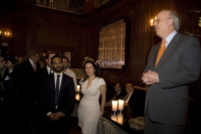 claudio ochoa in NY Book Party for Courage &  Consequence by Karl Rove
