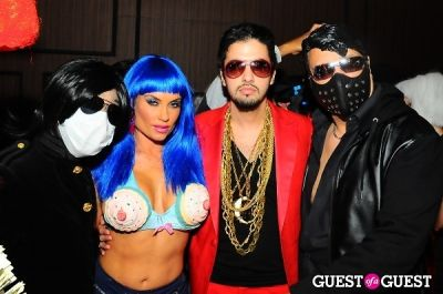 dj cassidy in Patricia Field Aristo Halloween Party!