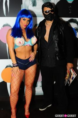 ice t in Patricia Field Aristo Halloween Party!