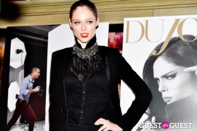 coco rocha in DUJOUR Magazine February Issue Launch Party