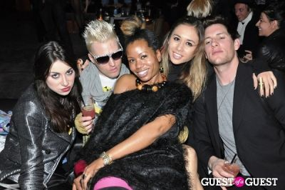 cody ross in Jeremy Scott after party 2010