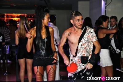 cole whittle in Semi Precious Weapons After Party.