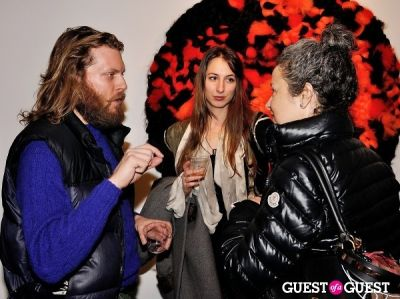 anna sheffield in Vanity Disorder exhibition opening at Charles Bank Gallery