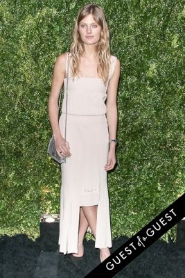 constance jablonski in Chanel's Tribeca Film Festival Artists Dinner