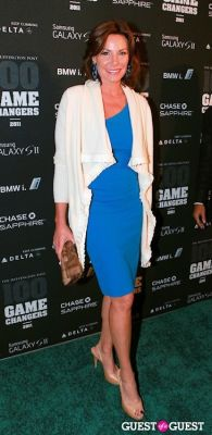 countess luann-de-lesseps in 2011 Huffington Post and Game Changers Award Ceremony