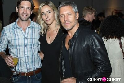 max ryan in Preview Party for Billy Zane's Solo Art Exhibition: