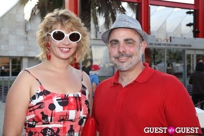 courtney nichols-and-ross-dileo in Eater 2013 Young Guns at LACMA