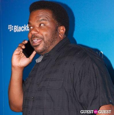 craig robinson in BlackBerry Z10 Launch