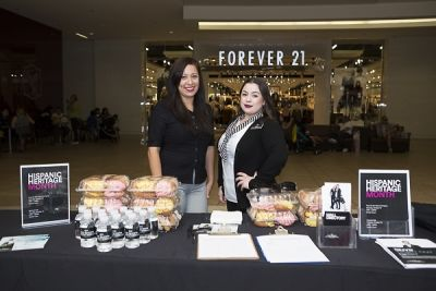 marita petitijean in The Shops at Montebello Hispanic Heritage Month Event