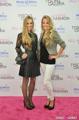 crystal martin in ALL ACCESS: FASHION Intermix Fashion Show