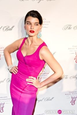 crystal renn in Gabrielle's Angel Foundation Hosts Angel Ball 2012