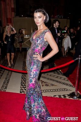 crystal renn in New Yorkers for Children Fall Gala 2013