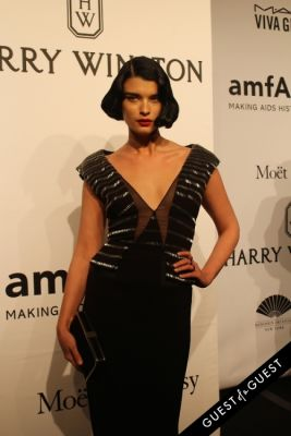 crystal renn in amfAR Gala New York