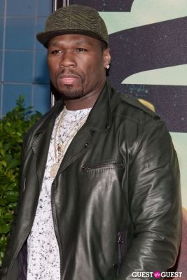 curtis 50-cent-jackson in 2 Guns Movie Premiere NYC