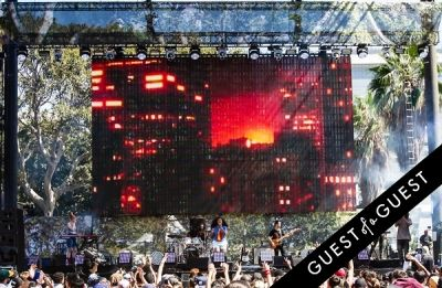 cut snake in Budweiser Made in America Music Festival 2014, Los Angeles, CA - Day 2