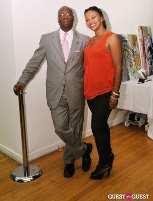 cyara fuller in NY Fame Fashion Week Charity Benefit