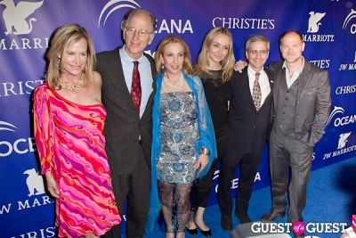 jim simon in Oceana's Inaugural Ball at Christie's